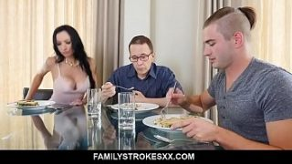 busty aunt seduces step nephew staying over portia harlow porn