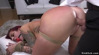 cop bangs huge tits redhead in her house