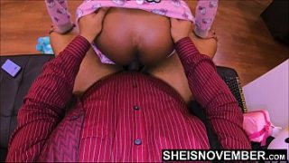 4k RawSex With My Daughter Inlaw Msnovember, Hardcore Reverse Cowgirl StepFather Unprotected Ebony Role Play In Jammies On Sheisnovember