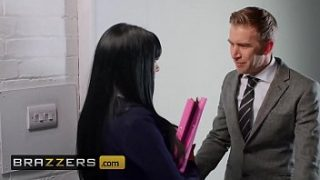 Big Tit (Valentina Ricci) takes huge brit cock in the office – Brazzers