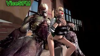 Marie Rose fucked by a monster