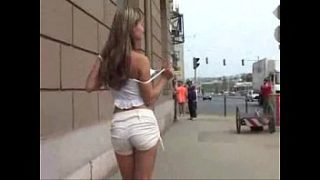 public nude and piss blonde teen 02