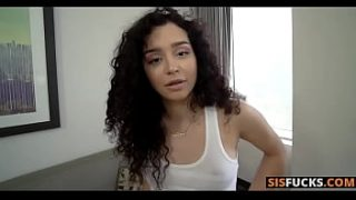 Stepsister Wanted A Massage And Then Asked Me To Cum Inside Her – Thalia Diaz