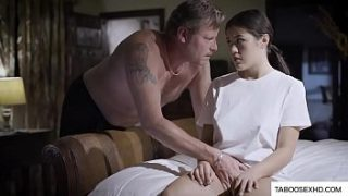 abusive f. force stepdaughter to fuck