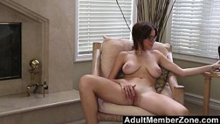 AdultMemberZone – Marina loves to fuck her pussy with a big toy