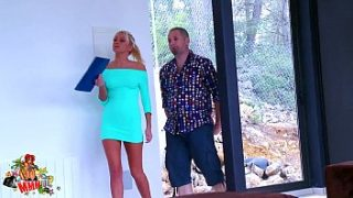 amazing russian babe fucked while she and 039 s trying to sell a house