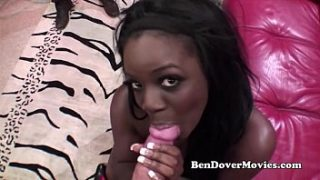 Ben Dovers hard threesome with black teen