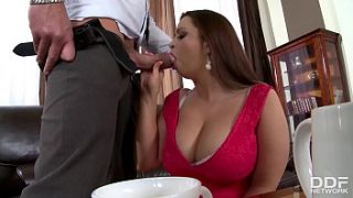 busty bbw sirale gets stuffed hard and titty fucked