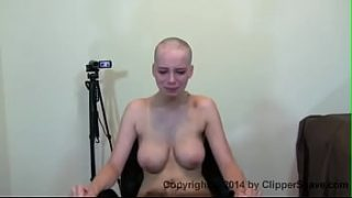 Candence shave her hair bald