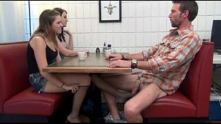 Cialis Porn Tube – Buy Cialis daughter gives Footjob and BJ to not her dad Under the Table Porn Tube
