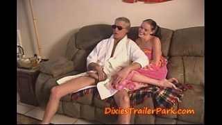 Daddy fills his TEEN Daughter with CUM