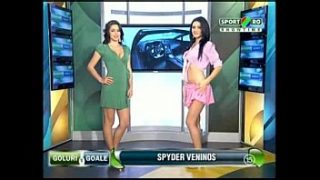 Goals and Goals ep 8 Gina and Roxy (Romania naked news)