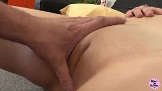 Hot Busty Blonde Takes My Cock Hard