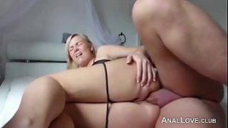 Hot Wifey Ass-To-Pussy Amateur