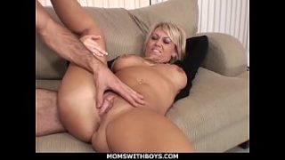 MomsWithBoys – Hot Blond Mom Anal Couch Fucked By Young Hard Cock