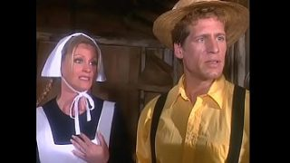 Prudish and technologically impaired Amish daughters found camcoder with tape where young blonde Melissa West had been shot in dirty movie