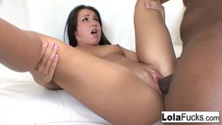 Sexy bubble butt Lola Foxx gets fucked by a big black cock
